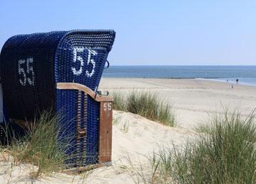 Strandkorb am strand  Strand Sierksdorf - Ostsee Strand Infos auf Ostseemiete.de
